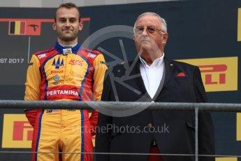 World © Octane Photographic Ltd. GP3 - Race 2. Ryan Tveter – Trident. Belgian Grand Pix - Spa Francorchamps, Belgium. Sunday 27th August 2017. Digital Ref: 1930LB1D7695
