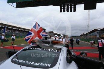 World © Octane Photographic Ltd. Formula 1 - British Grand Prix - Sunday - Grid. Silverstone, UK. Sunday 16th July 2017. Digital Ref: 1891LB2D9819