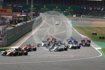 World © Octane Photographic Ltd. Formula 1 - British Grand Prix - Sunday - Race. Valtteri Bottas - Mercedes AMG Petronas F1 W08 EQ Energy+. Silverstone, UK. Sunday 16th July 2017. Digital Ref: 1892LB1D3864