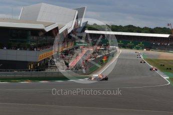 World © Octane Photographic Ltd. Formula 1 - British Grand Prix - Sunday - Race. Max Verstappen - Red Bull Racing RB13. Silverstone, UK. Sunday 16th July 2017. Digital Ref: 1892LB2D0069