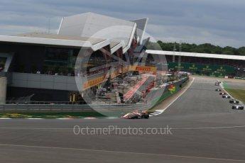 World © Octane Photographic Ltd. Formula 1 - British Grand Prix - Sunday - Race. Stoffel Vandoorne - McLaren Honda MCL32. Silverstone, UK. Sunday 16th July 2017. Digital Ref: 1892LB2D0088
