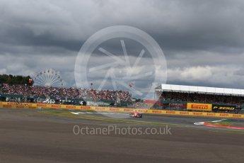 World © Octane Photographic Ltd. Formula 1 - British Grand Prix - Sunday - Race. Kimi Raikkonen - Scuderia Ferrari SF70H. Silverstone, UK. Sunday 16th July 2017. Digital Ref: 1892LB2D0126