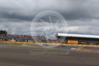 World © Octane Photographic Ltd. Formula 1 - British Grand Prix - Sunday - Race. Max Verstappen - Red Bull Racing RB13. Silverstone, UK. Sunday 16th July 2017. Digital Ref: 1892LB2D0132