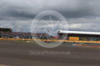 World © Octane Photographic Ltd. Formula 1 - British Grand Prix - Sunday - Race. Fernando Alonso - McLaren Honda MCL32. Silverstone, UK. Sunday 16th July 2017. Digital Ref: 1892LB2D0165