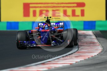 World © Octane Photographic Ltd. Formula 1 - Hungarian Grand Prix Practice 3. Carlos Sainz - Scuderia Toro Rosso STR12. Hungaroring, Budapest, Hungary. Saturday 29th July 2017. Digital Ref: