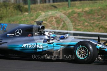 World © Octane Photographic Ltd. Formula 1 - Hungarian Pirelli tyre test. Valtteri Bottas - Mercedes AMG Petronas F1 W08 EQ Energy+. Hungaroring, Budapest, Hungary. Tuesday 1st August 2017. Digital Ref:1916CB1L2554