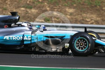 World © Octane Photographic Ltd. Formula 1 - Hungarian Pirelli tyre test. Valtteri Bottas - Mercedes AMG Petronas F1 W08 EQ Energy+. Hungaroring, Budapest, Hungary. Tuesday 1st August 2017. Digital Ref:1916CB1L2557