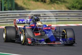 World © Octane Photographic Ltd. Formula 1 - Hungarian in-season testing. Sean Gelael - Scuderia Toro Rosso STR12. Hungaroring, Budapest, Hungary. Tuesday 1st August 2017. Digital Ref:1916CB1L2584