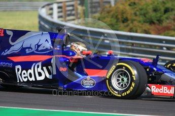 World © Octane Photographic Ltd. Formula 1 - Hungarian in-season testing. Sean Gelael - Scuderia Toro Rosso STR12. Hungaroring, Budapest, Hungary. Tuesday 1st August 2017. Digital Ref:1916CB1L2589