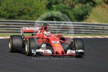 World © Octane Photographic Ltd. Formula 1 - Hungarian in-season testing. Charles LeClerc - Scuderia Ferrari SF70H. Hungaroring, Budapest, Hungary. Tuesday 1st August 2017. Digital Ref:1916CB1L2653