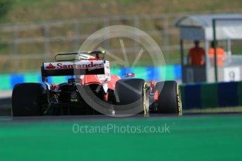 World © Octane Photographic Ltd. Formula 1 - Hungarian in-season testing. Charles LeClerc - Scuderia Ferrari SF70H. Hungaroring, Budapest, Hungary. Tuesday 1st August 2017. Digital Ref:1916CB1L2661