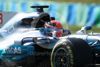 World © Octane Photographic Ltd. Formula 1 - Hungarian in-season testing. George Russell - Mercedes AMG Petronas F1 W08 EQ Energy+. Hungaroring, Budapest, Hungary. Tuesday 1st August 2017. Digital Ref:1916CB1L2843