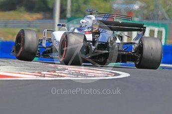 World © Octane Photographic Ltd. Formula 1 - Hungarian in-season testing. Lance Stroll - Williams Martini Racing FW40. Hungaroring, Budapest, Hungary. Tuesday 1st August 2017. Digital Ref:1916CB1L2983