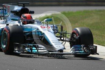 World © Octane Photographic Ltd. Formula 1 - Hungarian in-season testing. George Russell - Mercedes AMG Petronas F1 W08 EQ Energy+. Hungaroring, Budapest, Hungary. Tuesday 1st August 2017. Digital Ref:1916CB1L3033