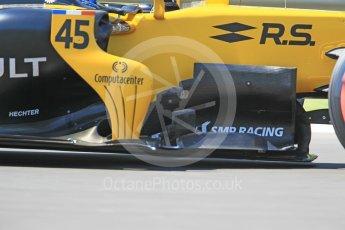 World © Octane Photographic Ltd. Formula 1 - Hungarian in-season testing. Nicholas Latifi - Renault Sport F1 Team R.S.17. Hungaroring, Budapest, Hungary. Tuesday 1st August 2017. Digital Ref:1916CB1L3091