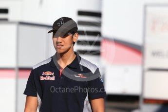 World © Octane Photographic Ltd. Formula 1 - Hungarian in-season testing. Sean Gelael - Scuderia Toro Rosso STR12. Hungaroring, Budapest, Hungary. Tuesday 1st August 2017. Digital Ref:1916CB2D4476