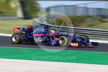 World © Octane Photographic Ltd. Formula 1 - Hungarian in-season testing. Sean Gelael - Scuderia Toro Rosso STR12. Hungaroring, Budapest, Hungary. Tuesday 1st August 2017. Digital Ref:1916CB2D4538