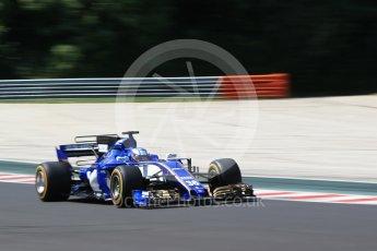 World © Octane Photographic Ltd. Formula 1 - Hungarian in-season testing. Gustav Malja – Sauber F1 Team C36. Hungaroring, Budapest, Hungary. Tuesday 1st August 2017. Digital Ref:1916CB2D4662