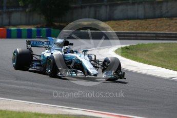 World © Octane Photographic Ltd. Formula 1 - Hungarian Pirelli tyre test. Valtteri Bottas - Mercedes AMG Petronas F1 W08 EQ Energy+. Hungaroring, Budapest, Hungary. Tuesday 1st August 2017. Digital Ref:1916CB2D4714