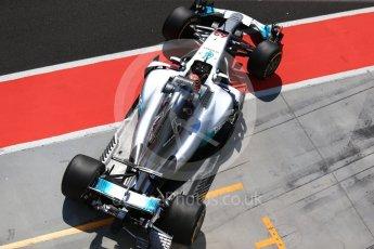 World © Octane Photographic Ltd. Formula 1 - Hungarian in-season testing. George Russell - Mercedes AMG Petronas F1 W08 EQ Energy+. Hungaroring, Budapest, Hungary. Tuesday 1st August 2017. Digital Ref: