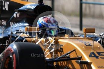 World © Octane Photographic Ltd. Formula 1 - Hungarian in-season testing. Nicholas Latifi - Renault Sport F1 Team R.S.17. Hungaroring, Budapest, Hungary. Tuesday 1st August 2017. Digital Ref:1916LB1D2148