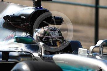 World © Octane Photographic Ltd. Formula 1 - Hungarian Pirelli tyre test. Valtteri Bottas - Mercedes AMG Petronas F1 W08 EQ Energy+. Hungaroring, Budapest, Hungary. Tuesday 1st August 2017. Digital Ref:1916LB1D2183