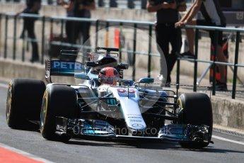 World © Octane Photographic Ltd. Formula 1 - Hungarian in-season testing. George Russell - Mercedes AMG Petronas F1 W08 EQ Energy+. Hungaroring, Budapest, Hungary. Tuesday 1st August 2017. Digital Ref:1916LB1D2226