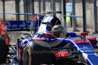 World © Octane Photographic Ltd. Formula 1 - Hungarian in-season testing. Sean Gelael - Scuderia Toro Rosso STR12. Hungaroring, Budapest, Hungary. Tuesday 1st August 2017. Digital Ref:1916LB1D2312