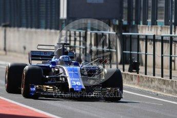 World © Octane Photographic Ltd. Formula 1 - Hungarian in-season testing. Gustav Malja – Sauber F1 Team C36. Hungaroring, Budapest, Hungary. Tuesday 1st August 2017. Digital Ref:1916LB1D2319