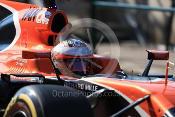 World © Octane Photographic Ltd. Formula 1 - Hungarian in-season testing. Stoffel Vandoorne - McLaren Honda MCL32. Hungaroring, Budapest, Hungary. Tuesday 1st August 2017. Digital Ref:1916LB1D2392