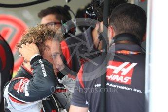 World © Octane Photographic Ltd. Formula 1 - Hungarian in-season testing. Santino Ferrucci - Haas F1 Team VF-17. Hungaroring, Budapest, Hungary. Tuesday 1st August 2017. Digital Ref:1916LB1D2424