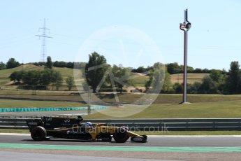 World © Octane Photographic Ltd. Formula 1 - Hungarian in-season testing. Nicholas Latifi - Renault Sport F1 Team R.S.17. Hungaroring, Budapest, Hungary. Tuesday 1st August 2017. Digital Ref:1916LB1D2465