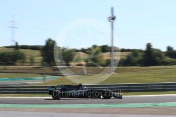 World © Octane Photographic Ltd. Formula 1 - Hungarian in-season testing. Santino Ferrucci - Haas F1 Team VF-17. Hungaroring, Budapest, Hungary. Tuesday 1st August 2017. Digital Ref:1916LB1D2519