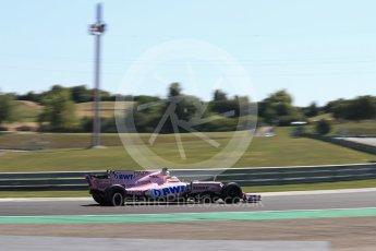 World © Octane Photographic Ltd. Formula 1 - Hungarian in-season testing. Nikita Mazepin - Sahara Force India VJM10. Hungaroring, Budapest, Hungary. Tuesday 1st August 2017. Digital Ref:1916LB1D2527