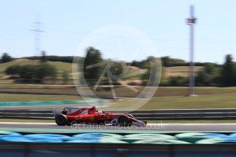 World © Octane Photographic Ltd. Formula 1 - Hungarian in-season testing. Charles LeClerc - Scuderia Ferrari SF70H. Hungaroring, Budapest, Hungary. Tuesday 1st August 2017. Digital Ref:1916LB1D2595