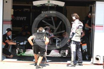 World © Octane Photographic Ltd. Formula 1 - Hungarian in-season testing. Lucas Auer - Sahara Force India VJM10. Hungaroring, Budapest, Hungary. Tuesday 1st August 2017. Digital Ref: 1916LB1D2772
