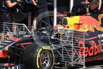World © Octane Photographic Ltd. Formula 1 - Hungarian in-season testing. Max Verstappen - Red Bull Racing RB13. Hungaroring, Budapest, Hungary. Tuesday 1st August 2017. Digital Ref: