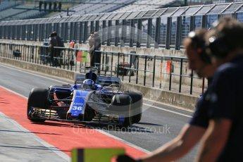 World © Octane Photographic Ltd. Formula 1 - Hungarian in-season testing. Gustav Malja – Sauber F1 Team C36. Hungaroring, Budapest, Hungary. Tuesday 1st August 2017. Digital Ref:1916LB5D3108