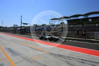 World © Octane Photographic Ltd. Formula 1 - Hungarian Pirelli tyre test. Valtteri Bottas - Mercedes AMG Petronas F1 W08 EQ Energy+. Hungaroring, Budapest, Hungary. Tuesday 1st August 2017. Digital Ref:1916LB5D3228
