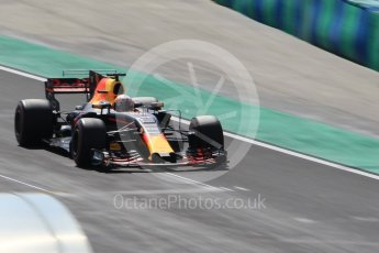 World © Octane Photographic Ltd. Formula 1 - Hungarian in-season testing. Pierre Gasly - Red Bull Racing RB13. Hungaroring, Budapest, Hungary. Wednesday 2nd August 2017. Digital Ref:1917CB1L3610