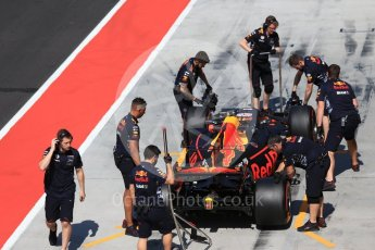World © Octane Photographic Ltd. Formula 1 - Hungarian in-season testing. Pierre Gasly - Red Bull Racing RB13. Hungaroring, Budapest, Hungary. Wednesday 2nd August 2017. Digital Ref:1917CB2D5305