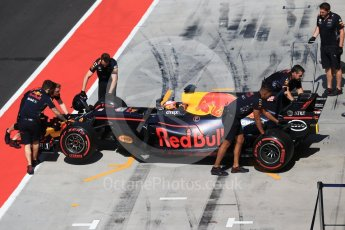 World © Octane Photographic Ltd. Formula 1 - Hungarian in-season testing. Pierre Gasly - Red Bull Racing RB13. Hungaroring, Budapest, Hungary. Wednesday 2nd August 2017. Digital Ref:1917CB2D5309