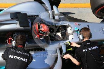 World © Octane Photographic Ltd. Formula 1 - Hungarian in-season testing. George Russell - Mercedes AMG Petronas F1 W08 EQ Energy+. Hungaroring, Budapest, Hungary. Wednesday 2nd August 2017. Digital Ref:1917CB2D5348