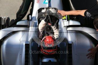 World © Octane Photographic Ltd. Formula 1 - Hungarian in-season testing. George Russell - Mercedes AMG Petronas F1 W08 EQ Energy+. Hungaroring, Budapest, Hungary. Wednesday 2nd August 2017. Digital Ref:1917CB2D5374