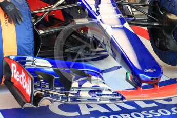 World © Octane Photographic Ltd. Formula 1 - Hungarian in-season testing. Carlos Sainz - Scuderia Toro Rosso STR12. Hungaroring, Budapest, Hungary. Wednesday 2nd August 2017. Digital Ref:
