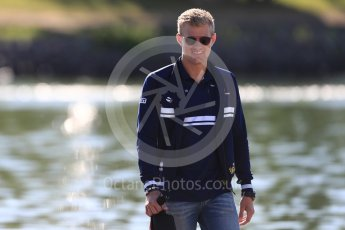 World © Octane Photographic Ltd. Formula 1 - Canadian Grand Prix - Saturday Paddock. Marcus Ericsson – Sauber F1 Team. Circuit Gilles Villeneuve, Montreal, Canada. Saturday 10th June 2017. Digital Ref: 1849LB1D4664