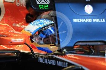 World © Octane Photographic Ltd. Formula 1 - Canadian Grand Prix - Saturday - Practice 3. Fernando Alonso - McLaren Honda MCL32. Circuit Gilles Villeneuve, Montreal, Canada. Saturday 10th June 2017. Digital Ref: 1853LB1D5460