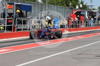 World © Octane Photographic Ltd. Formula 1 - Canadian Grand Prix - Saturday - Practice 3. Carlos Sainz - Scuderia Toro Rosso STR12. Circuit Gilles Villeneuve, Montreal, Canada. Saturday 10th June 2017. Digital Ref: 1853LB1D5750