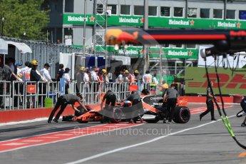 World © Octane Photographic Ltd. Formula 1 - Canadian Grand Prix - Saturday - Practice 3. Fernando Alonso - McLaren Honda MCL32. Circuit Gilles Villeneuve, Montreal, Canada. Saturday 10th June 2017. Digital Ref: 1853LB1D5849