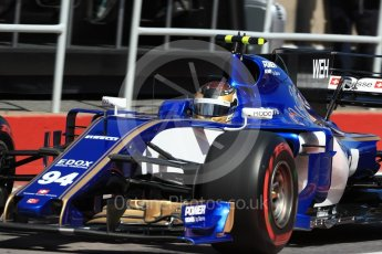 World © Octane Photographic Ltd. Formula 1 - Canadian Grand Prix - Saturday - Practice 3. Pascal Wehrlein – Sauber F1 Team C36. Circuit Gilles Villeneuve, Montreal, Canada. Saturday 10th June 2017. Digital Ref: 1853LB1D5899